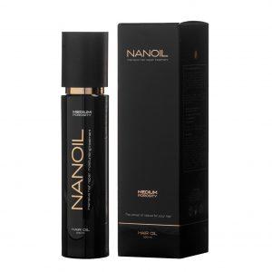 Nanoil hair oil - moc naturalnych olejków